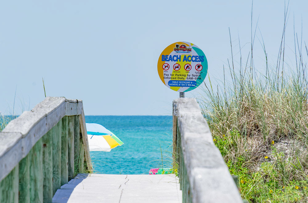 beach access by st pete