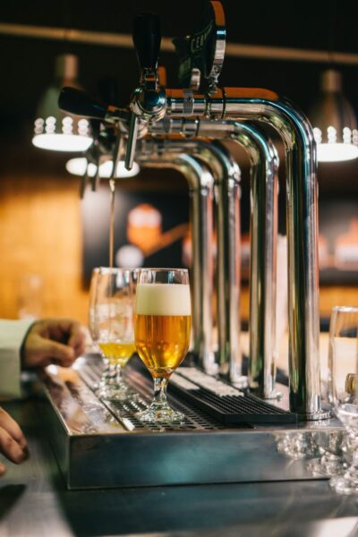 beer tap at st pete restaurant